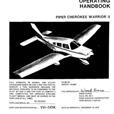 Piper Lance II Service Manual PA-32RT-300/300T Part # 761-641