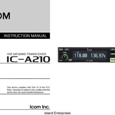 [DIAGRAM_38DE]  Icom Installation & Service Manual | AircraftMaintenanceManuals.com | Icom A210 Wiring Diagram |  | Aircraft Manual