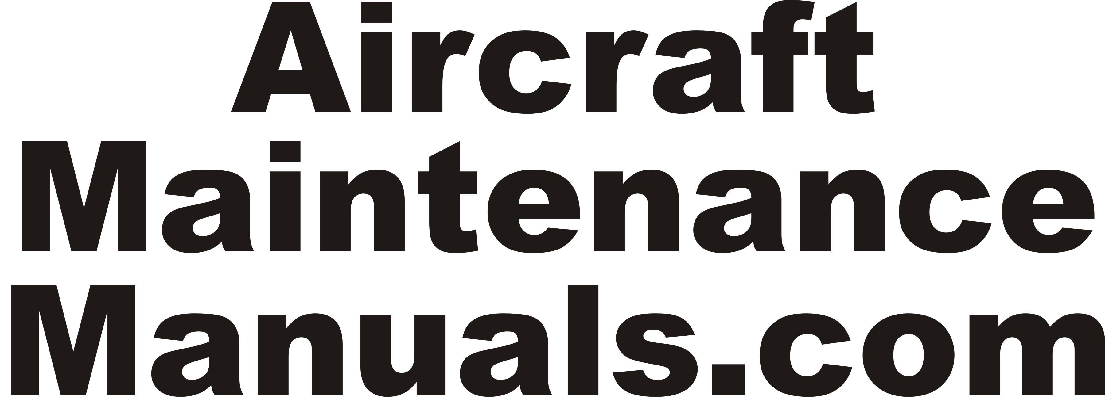 AircraftMaintenanceManuals.com